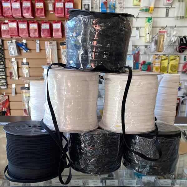 Élastiques 6mm pour couture et maques